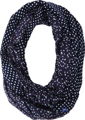 Keds Reversible Printed Infinity Scarf Peacoat - Keds Hats/Gloves/Scarves