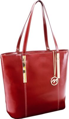 McKlein USA McKlein USA Cristina Tote Red - McKlein USA Women's Business Bags