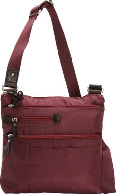 Osgoode Marley Large Crossbody Cranberry - Osgoode Marley Fabric Handbags