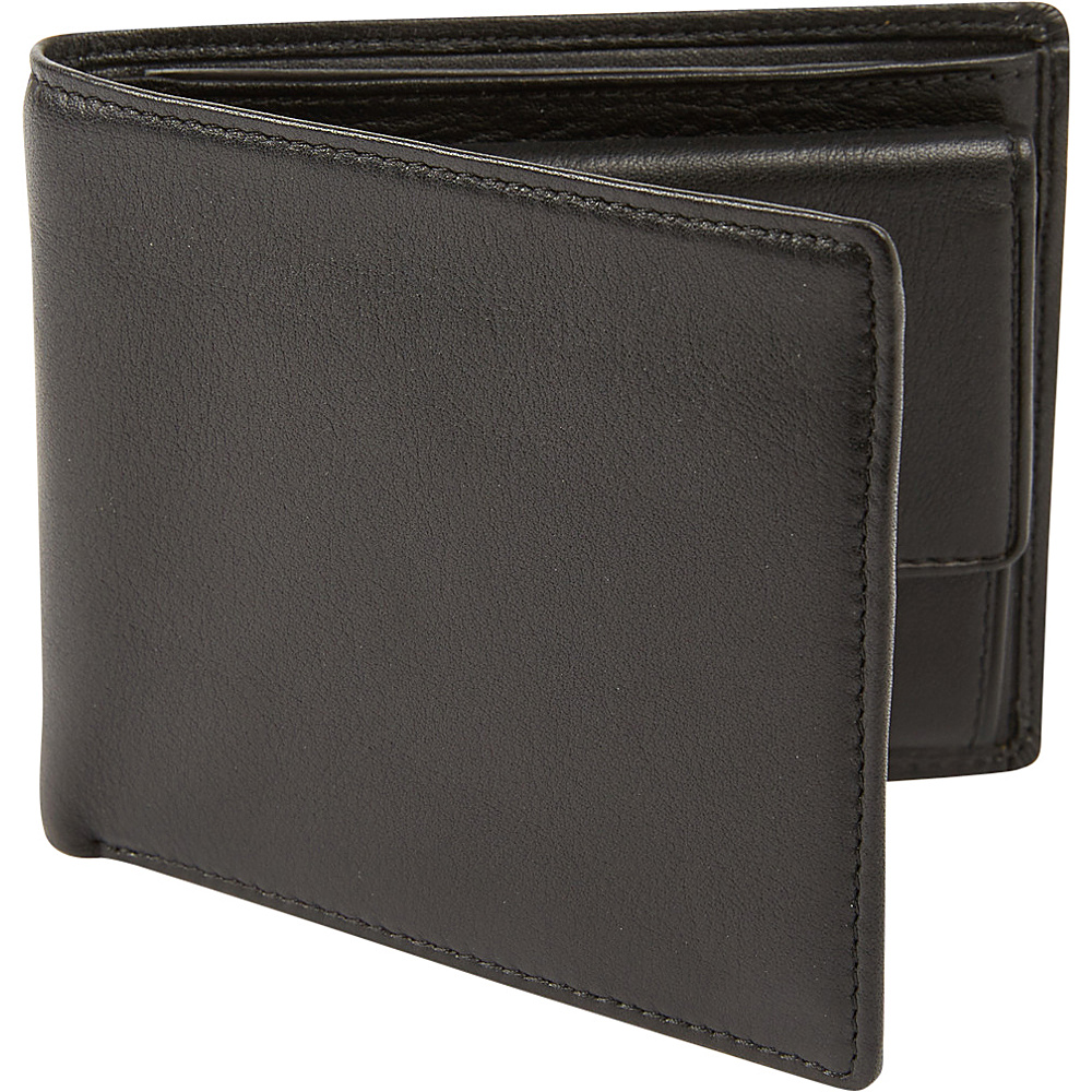 Tanners Avenue Premium Bifold with Coin Pocket Black Tanners Avenue Men s Wallets