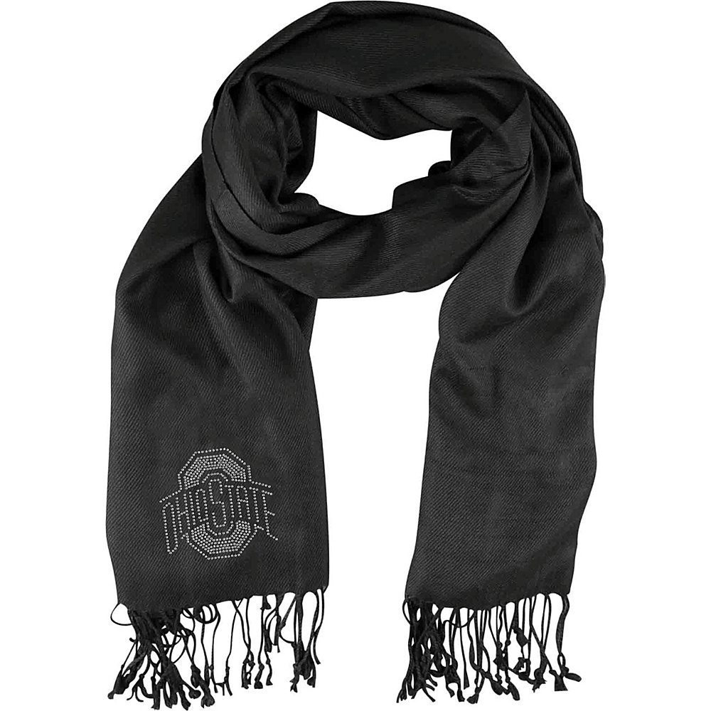 Littlearth Pashi Fan Scarf - Big 10 Teams Ohio State University - Littlearth Hats/Gloves/Scarves - Fashion Accessories, Hats/Gloves/Scarves