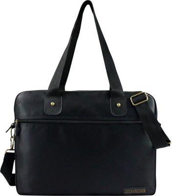 Jacki Design Men's Business Laptop Bag Black - Jacki Design Non-Wheeled Business Cases