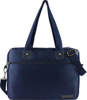 Jacki Design Men's Business Laptop Bag Blue - Jacki Design Non-Wheeled Business Cases