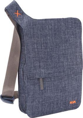 Nava Bellows, iPad Messenger Blue Denim - Nava Slings