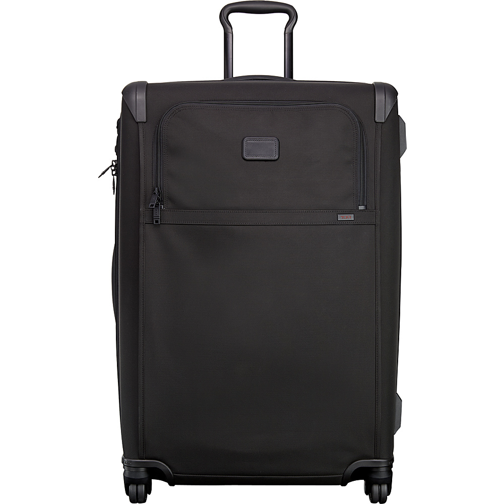 Tumi Alpha 2 Lightweight Extended Trip 4 Wheel Packing Case Black - Tumi Softside Checked