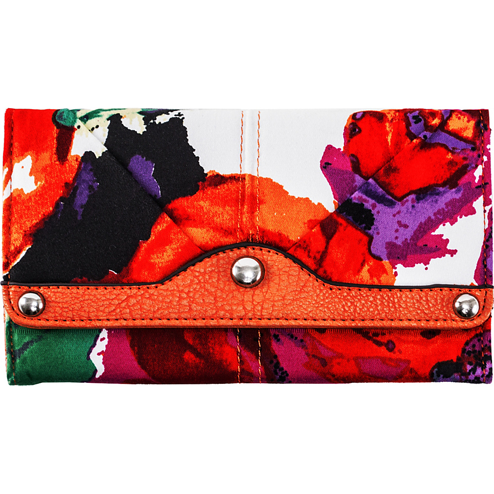Parinda Madaline Wallet Orange - Parinda Ladies Small Wallets