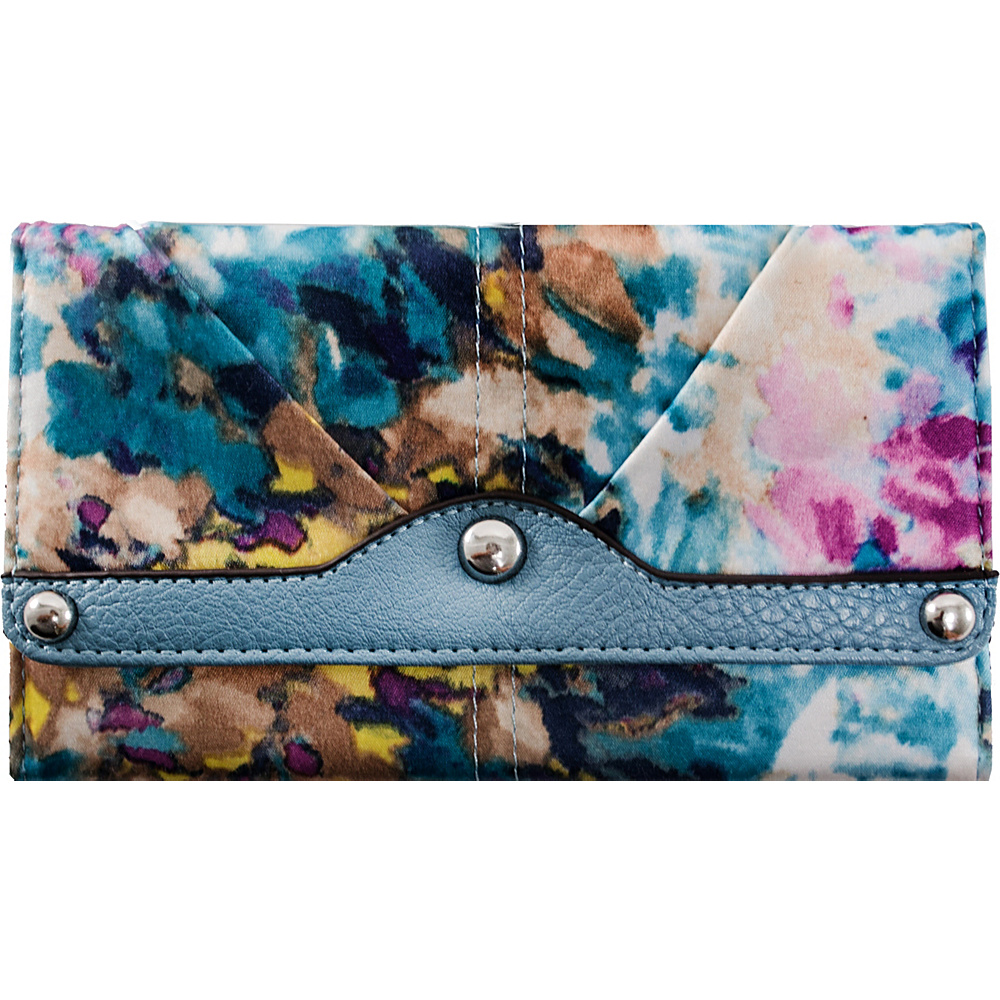 Parinda Madaline Wallet Aqua - Parinda Ladies Small Wallets