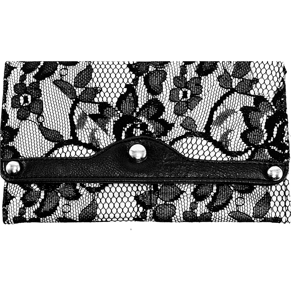 Parinda Madaline Wallet Grey Lace Parinda Women s Wallets