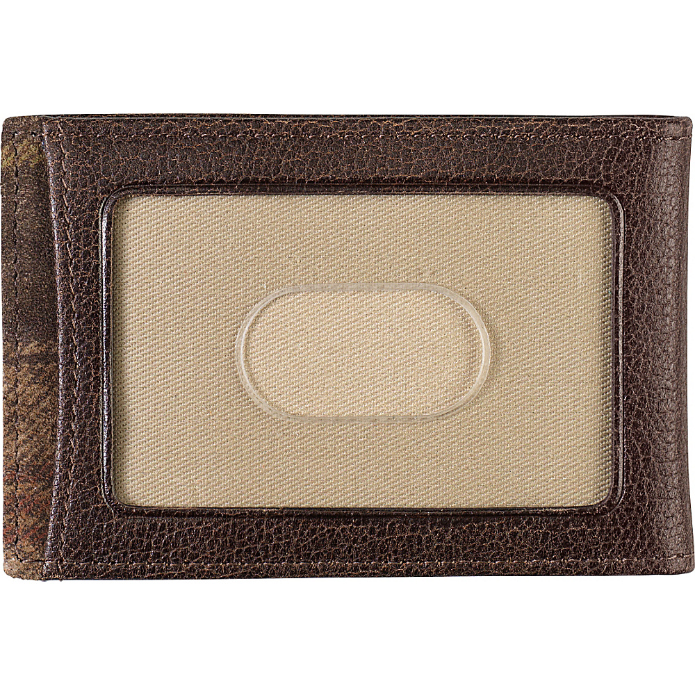 Johnston & Murphy Twofold Money Clip Brown - Johnston & Murphy Men's Wallets