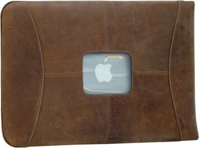 MacCase Premium Leather 12 inch MacBook Sleeve Vintage - MacCase Electronic Cases