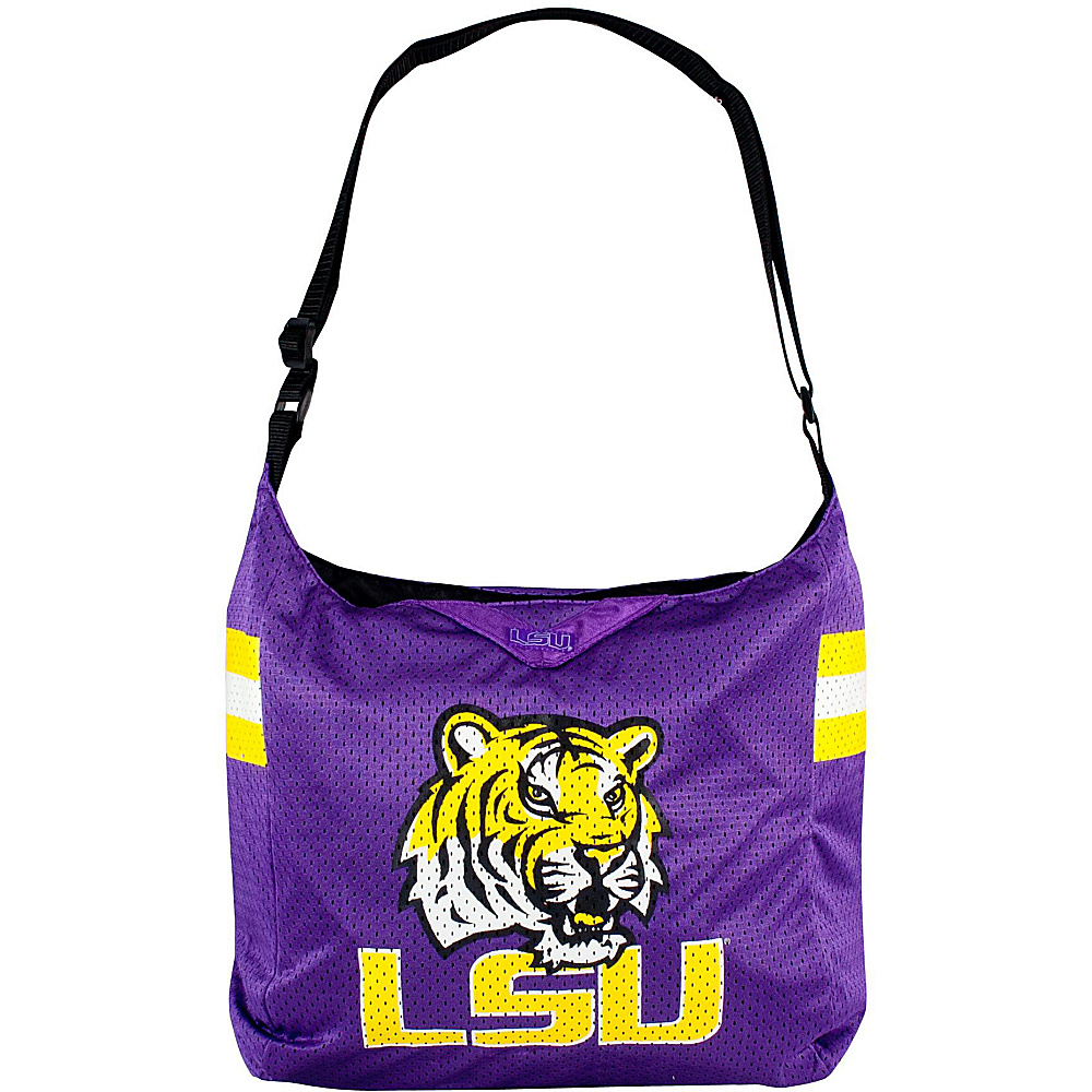 Littlearth Team Jersey Shoulder Bag - SEC Teams Louisiana State University - Littlearth Fabric Handbags - Handbags, Fabric Handbags