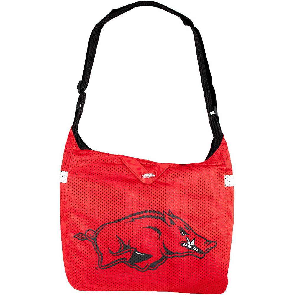 Littlearth Team Jersey Shoulder Bag - SEC Teams Arkansas, U of - Littlearth Fabric Handbags - Handbags, Fabric Handbags
