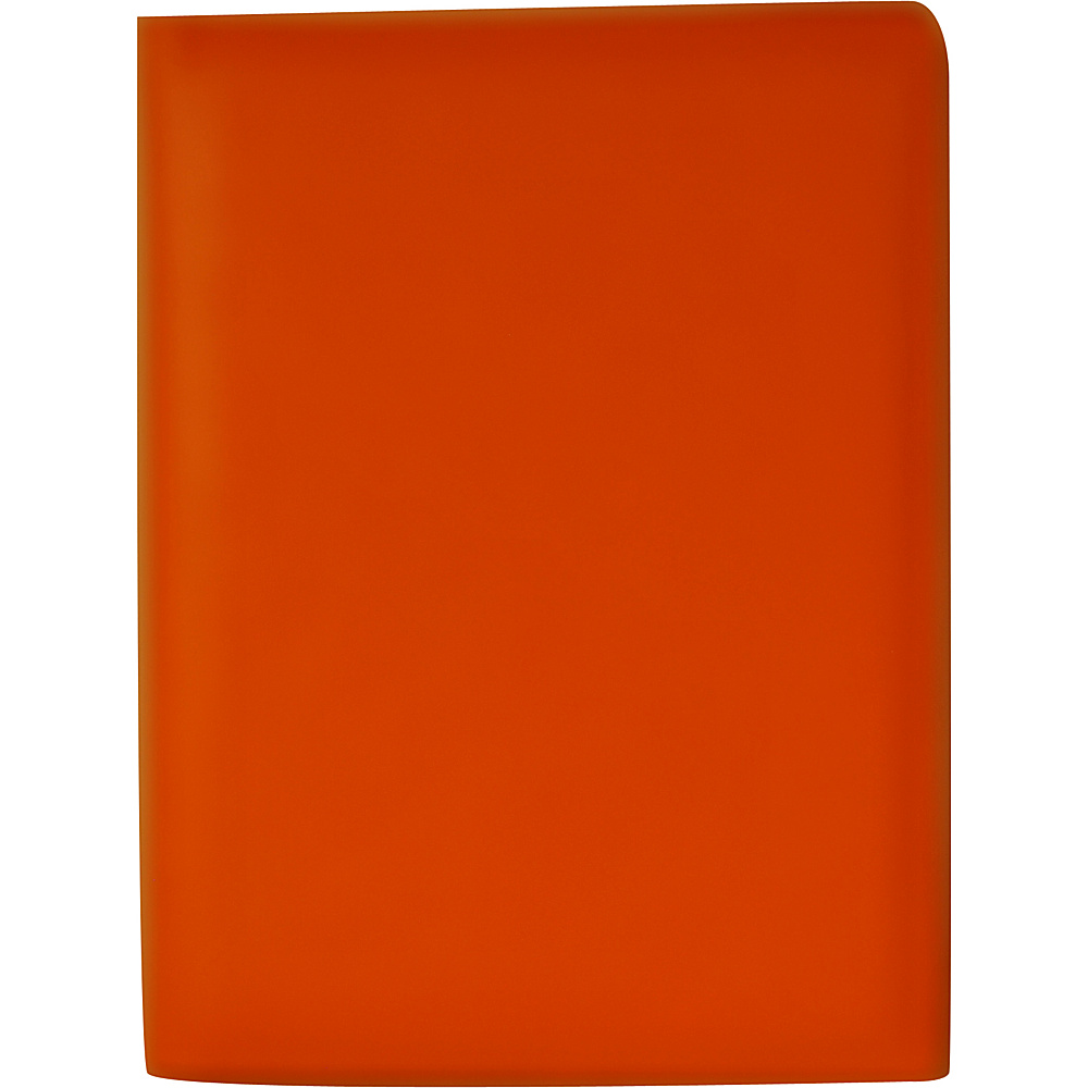 Budd Leather Petite Leather Pad Cover Orange Budd Leather Business Accessories