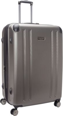 Heritage O'Hare 29 inch Expandable Checked 8 Wheel Spinner Silver - Heritage Hardside Checked
