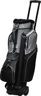 RJ Golf Spinner Travel Golf Bag Black - RJ Golf Golf Bags