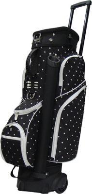 RJ Golf Spinner Travel Golf Bag Polk A Dot - RJ Golf Golf Bags