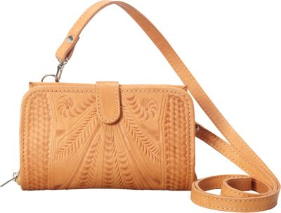 Image of Ropin West Crossover Wallet Natural - Ropin West Women's Wallets