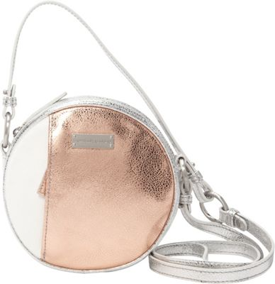 Image of Adrienne Landau Calypso Skyline Crossbody White - Adrienne Landau Leather Handbags