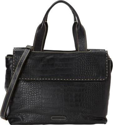 Hidesign Women's Leather Laptop Work Bag Black - Hidesign Ladies' Business