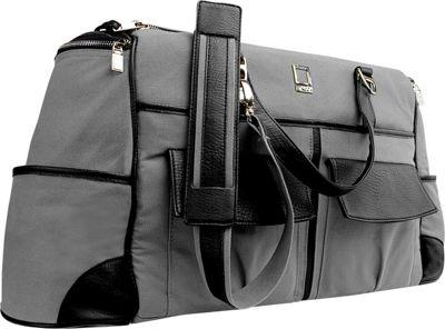 Lencca Alpaque Duffel Carry-on Traveler's Bag Gray / Black - Lencca All Purpose Duffels