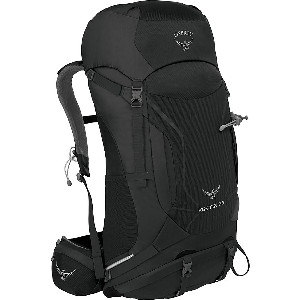 Osprey Kestrel 38 Hiking Backpack Ash Grey - M/L - Osprey Backpacking Packs - Outdoor, Backpacking Packs