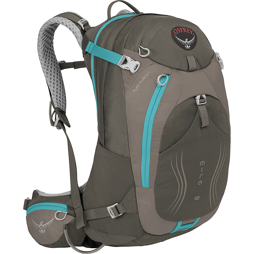 Osprey Mira AG 18 Hiking Pack Misty Grey - Osprey Day Hiking Backpacks - Outdoor, Day Hiking Backpacks