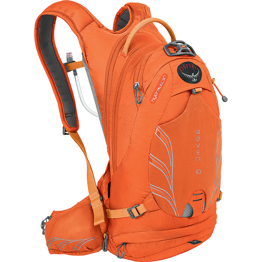 Osprey Raven 10 Biking Backpack Tiger Orange - Osprey Day Hiking Backpacks - Outdoor, Day Hiking Backpacks