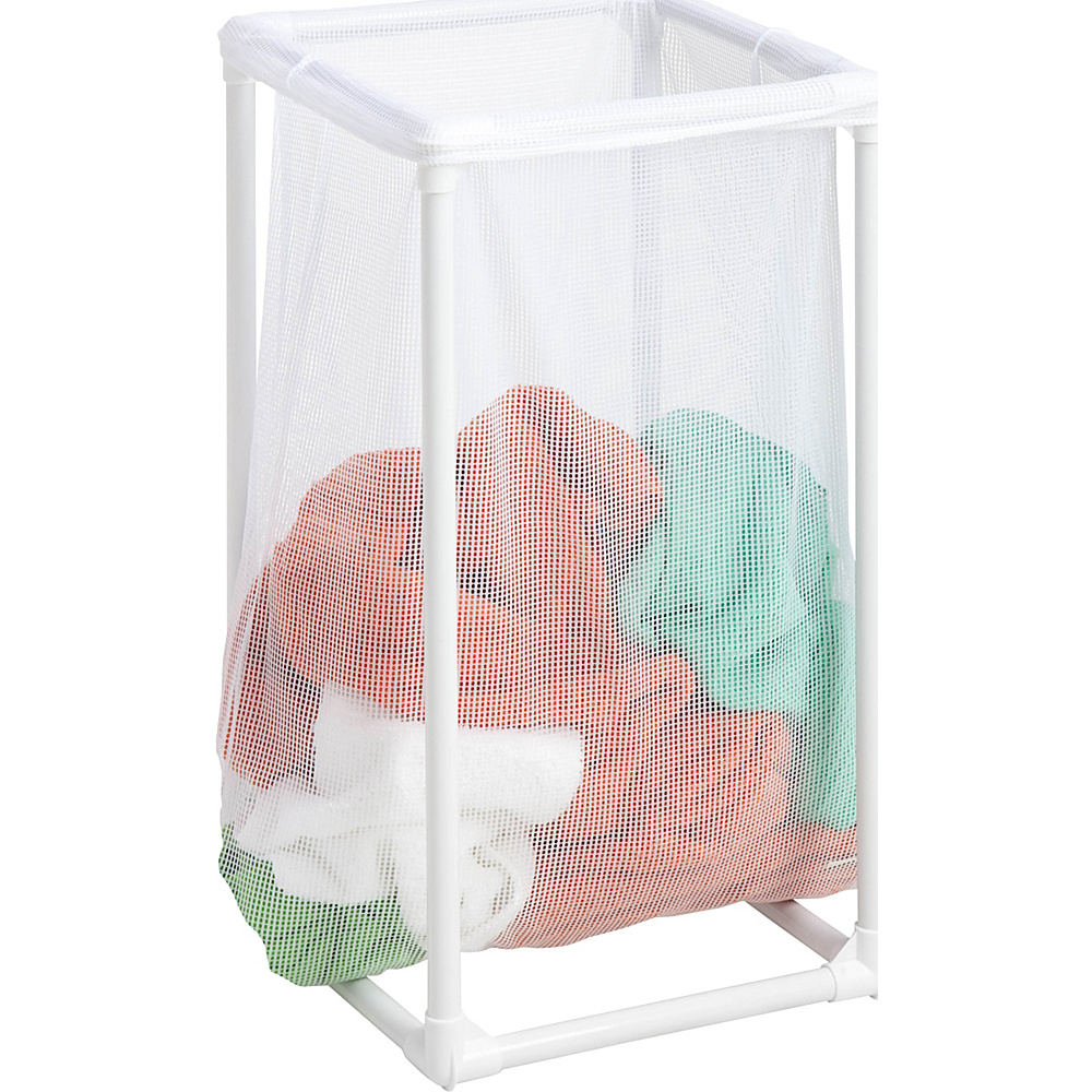 Honey Can Do 1 Bag Mesh Laundry Hamper white Honey Can Do Travel Health Beauty