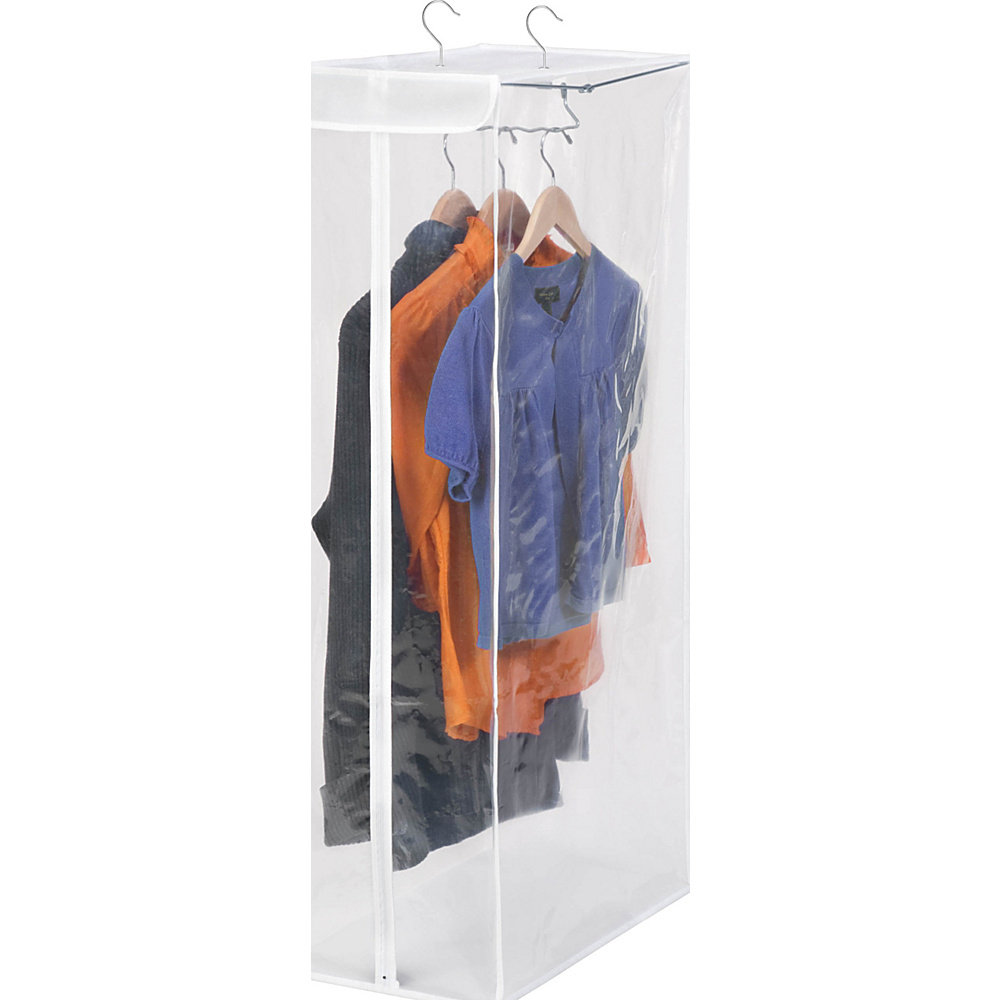 Honey-Can-Do Short Garment Bag- Peva clear - Honey-Can-Do Travel Comfort and Health