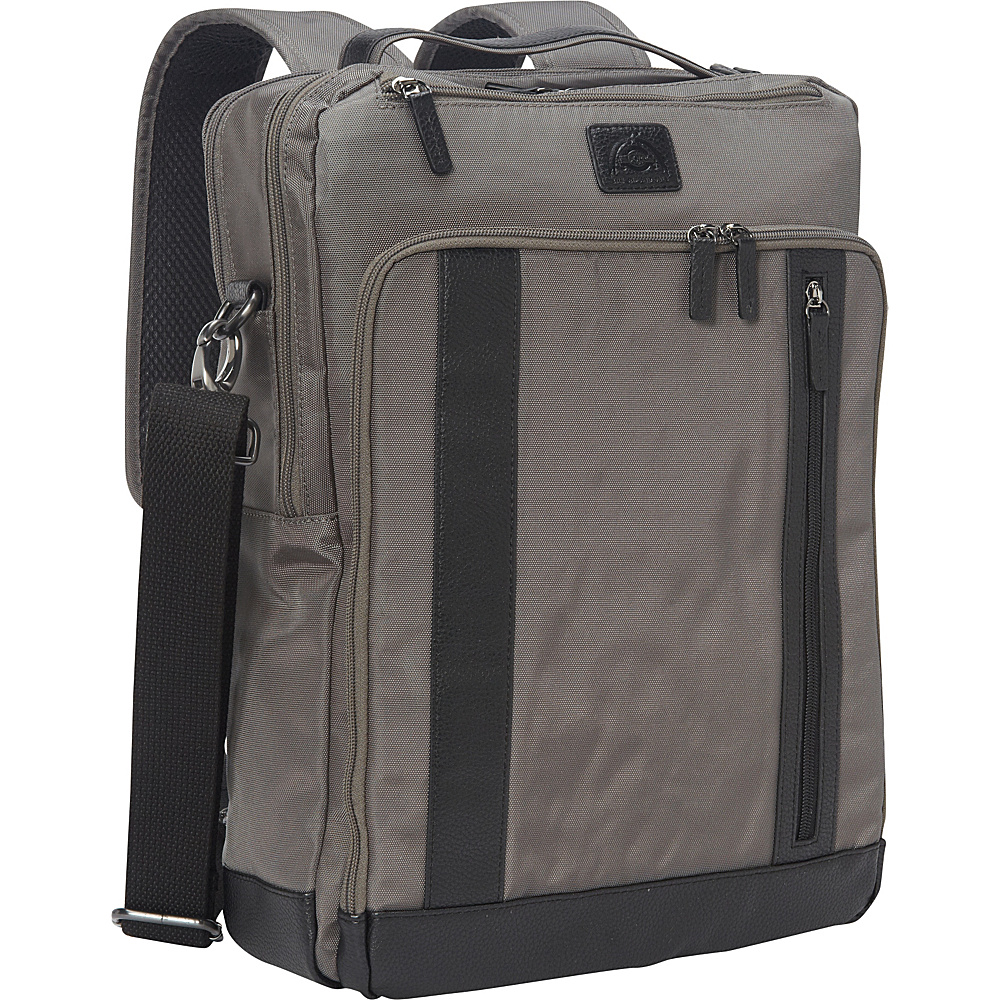 Dopp Commuter Convertible Backpack with RFID Lining Graphite - Dopp Business & Laptop Backpacks