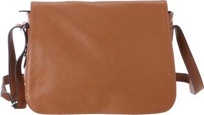 Bella Handbags Abigail Shoulder Bag Cognac - Bella Handbags Leather Handbags