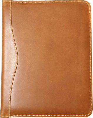 Canyon Outback Salt River Executive Distressed Leather Meeting Organizer Distressed Tan - Canyon Outback Business Accessories