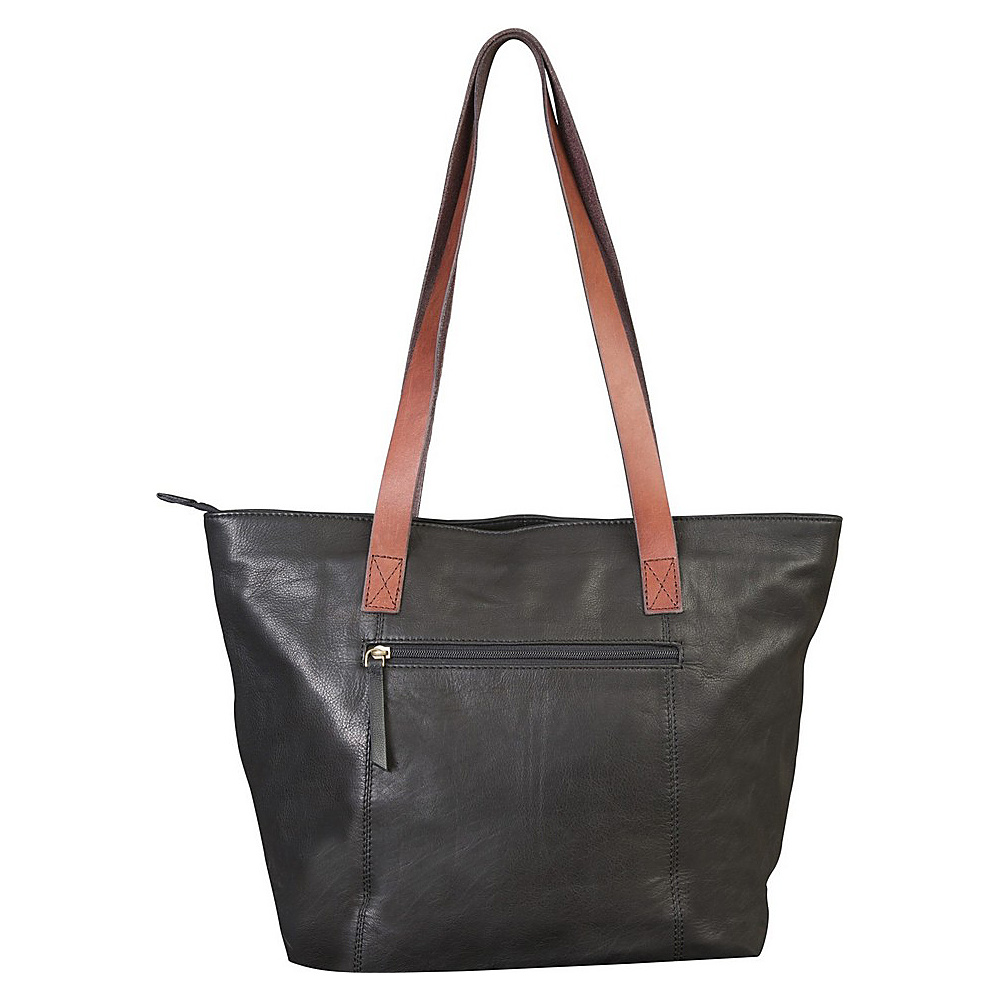 Canyon Outback Leather 17 inch Harper Canyon Leather Tote Black Canyon Outback Leather Handbags