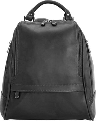 Royce Leather Women's Colombian Leather Sling Backpack - eBags.com