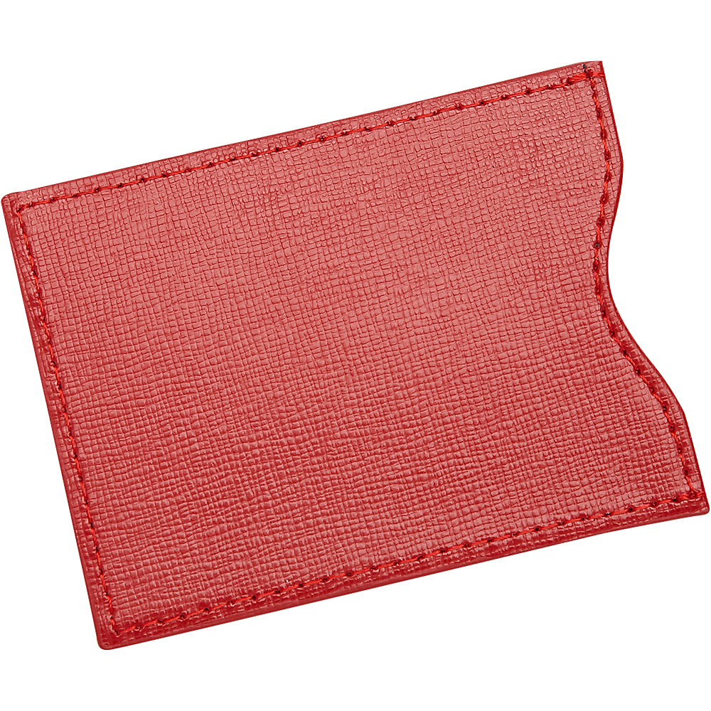 Royce Leather RFID Blocking Credit Card Sleeve Wallet Red - Royce Leather Mens Wallets - Work Bags & Briefcases, Men's Wallets