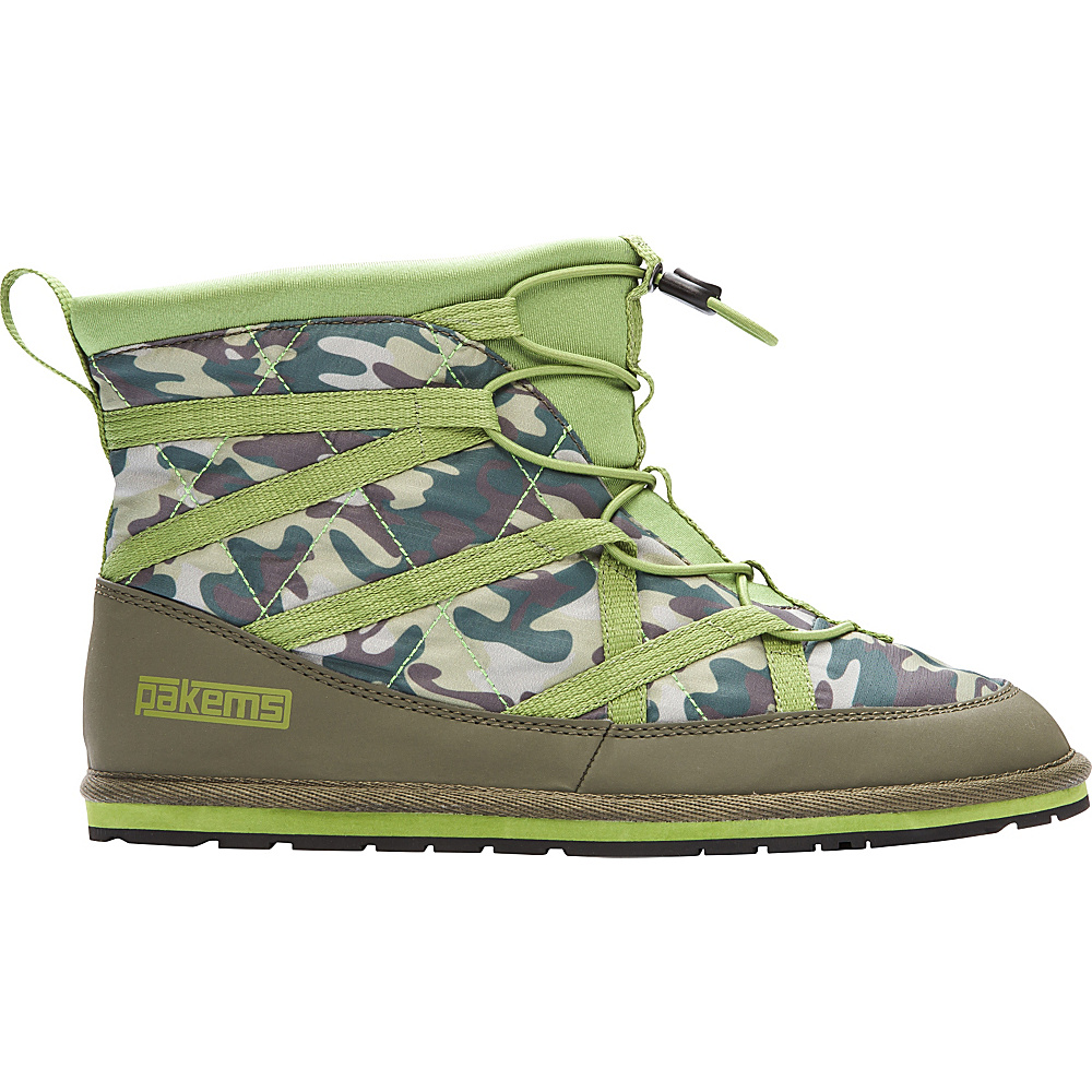 Pakems Women s Extreme Boot 7 M Regular Medium Green Camo Pakems Women s Footwear
