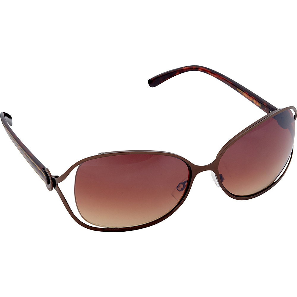 Circus by Sam Edelman Sunglasses Oval Sunglasses Bronze Brown Circus by Sam Edelman Sunglasses Sunglasses