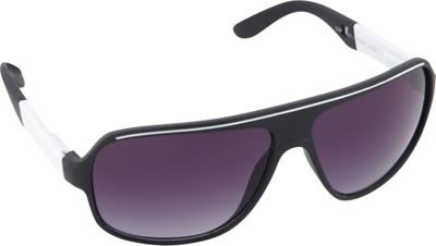 SouthPole Eyewear Shield Sunglasses Black/White - SouthPole Eyewear Sunglasses