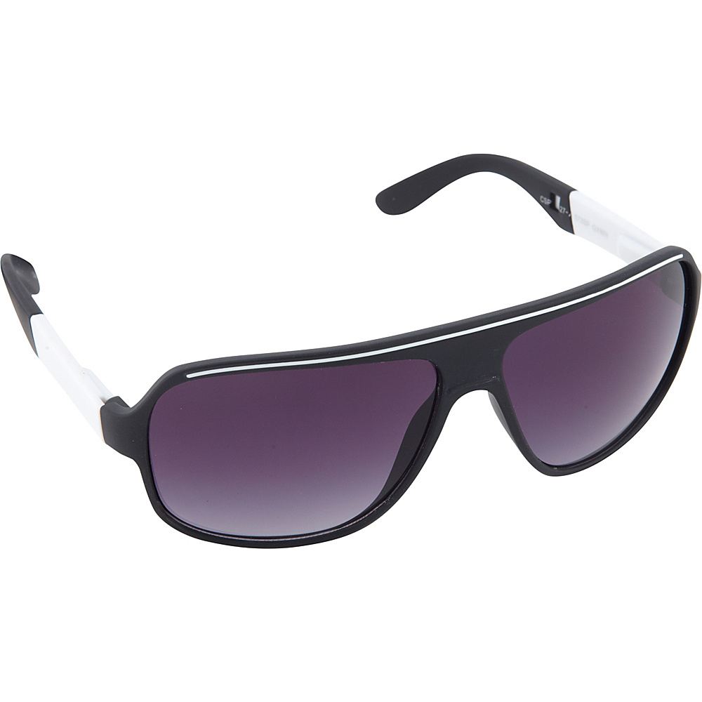 SouthPole Eyewear Shield Sunglasses Black White SouthPole Eyewear Sunglasses