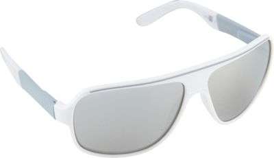 SouthPole Eyewear SouthPole Eyewear Shield Sunglasses White/Grey - SouthPole Eyewear Sunglasses
