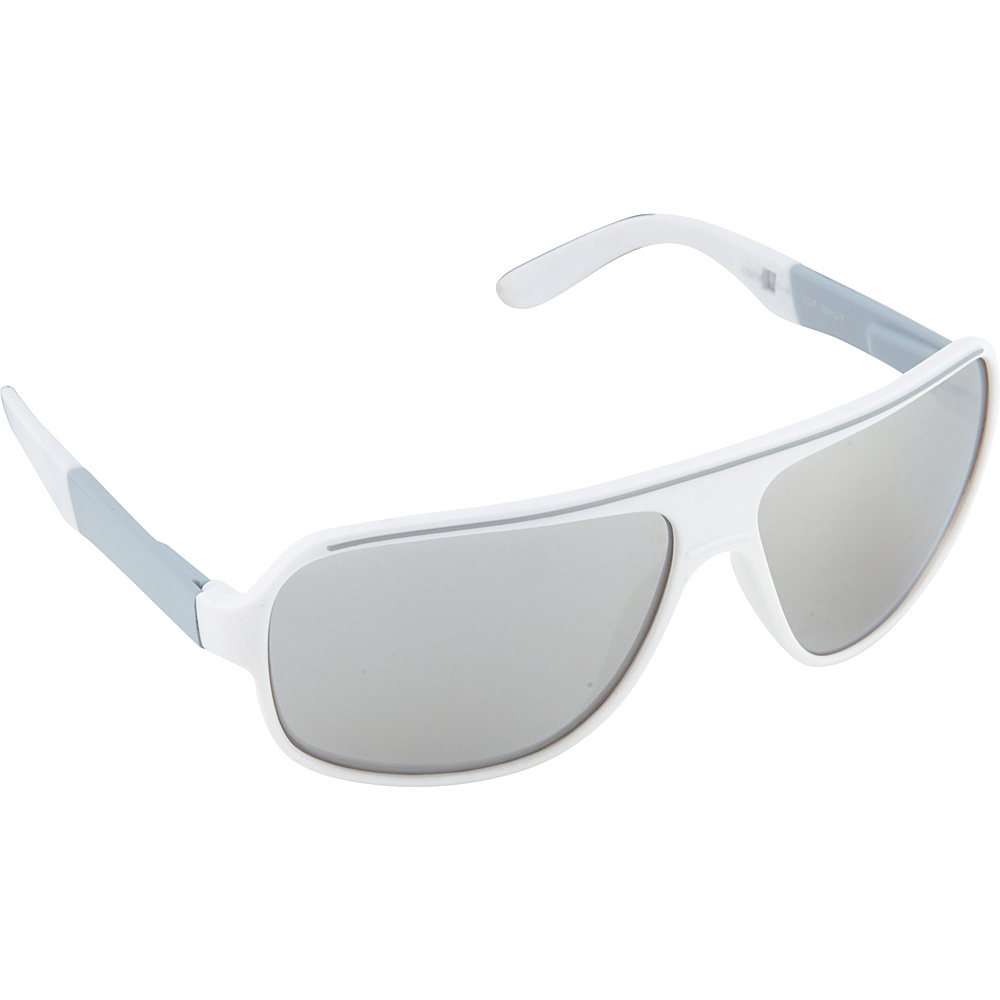 SouthPole Eyewear Shield Sunglasses White Grey SouthPole Eyewear Sunglasses
