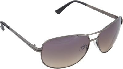 SouthPole Eyewear Metal Aviator Sunglasses Gun/Black - SouthPole Eyewear Sunglasses