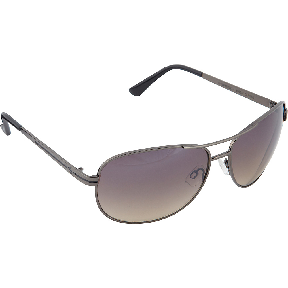 SouthPole Eyewear Metal Aviator Sunglasses Gun Black SouthPole Eyewear Sunglasses
