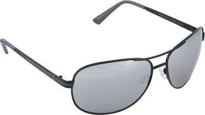 SouthPole Eyewear Metal Aviator Sunglasses Black/Grey - SouthPole Eyewear Sunglasses