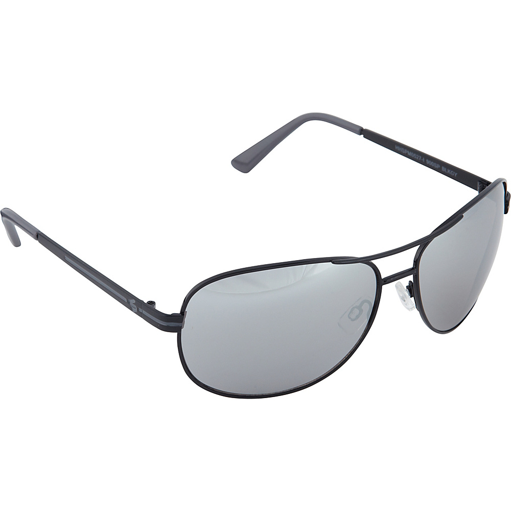SouthPole Eyewear Metal Aviator Sunglasses Black Grey SouthPole Eyewear Sunglasses