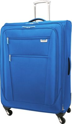 Ricardo Beverly Hills Del Mar 29 inch 4 Wheel Expandable Upright Sapphire - Ricardo Beverly Hills Softside Checked