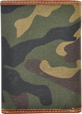 Rawlings Camo Trifold Camo Brown/Green - Rawlings Men's Wallets