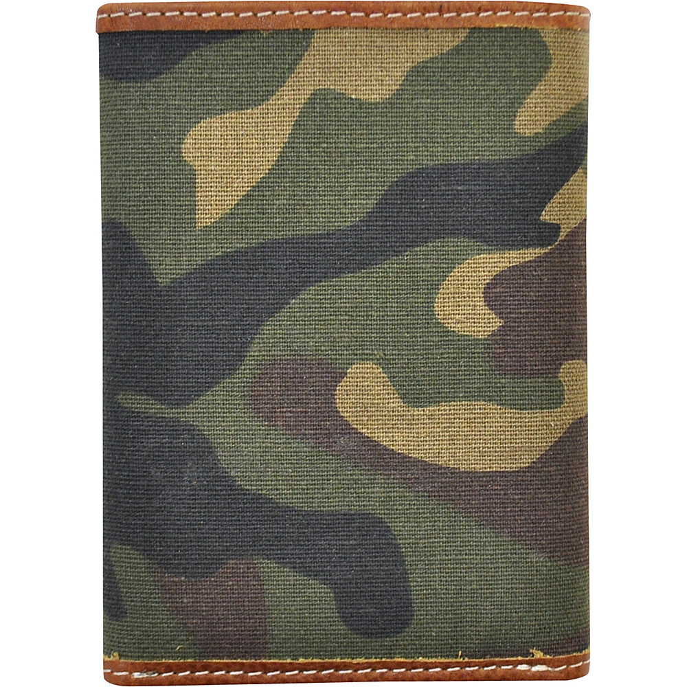 Rawlings Camo Trifold Camo Brown Green Rawlings Men s Wallets