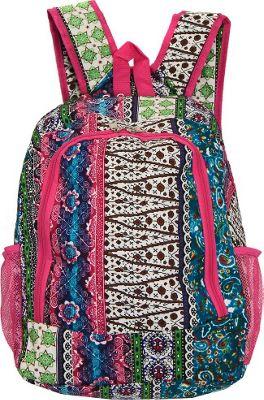 World Traveler Artisan 16 inch Multipurpose Backpack Artisan - World Traveler Everyday Backpacks