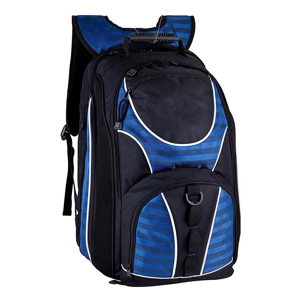 World Traveler TSA Friendly 17 Laptop Backpack Blue - World Traveler Business & Laptop Backpacks - Backpacks, Business & Laptop Backpacks